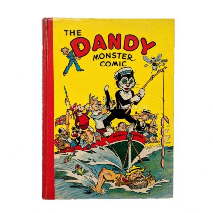 The Dandy Monster Comic 1942 Annual D.C. Thomson 1941